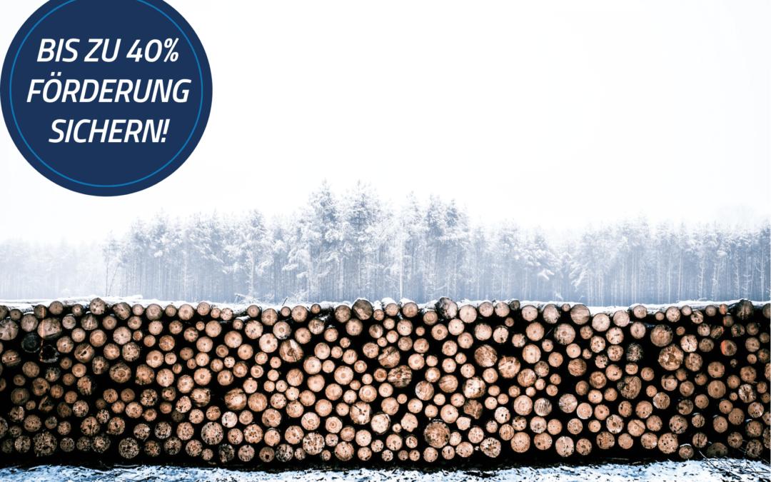 Bayern fördert kleine Biomasseheizwerke mit bis zu 40 %