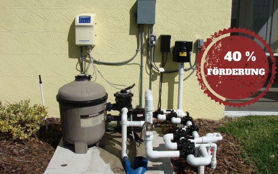 Bis zu 40% Förderung für elektrisch angetriebene Pumpen